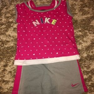 Toddler girls Nike outfit. Size 24 months